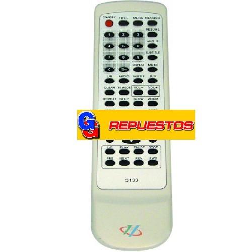 CONTROL REMOTO DVD HAIER (3133)