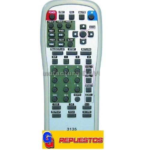 CONTROL REMOTO DVD WINS (3135)