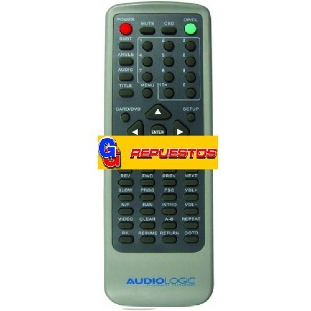 CONTROL REMOTO DVD AUDIOLOGIC 850 (3142)