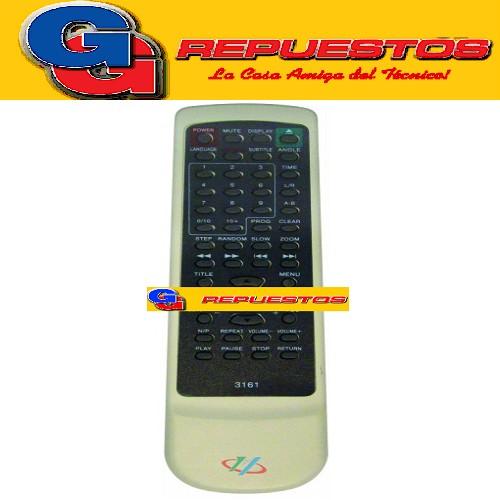 CONTROL REMOTO DVD VARIOSWS-328 (3161)