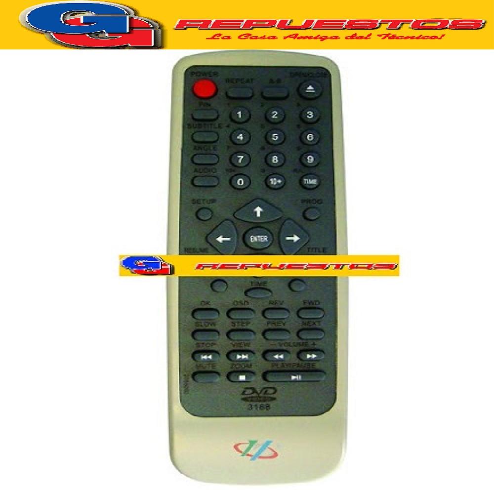 CONTROL REMOTO DVD 2055003 (3168) 2055003 PROTON SONIVOX