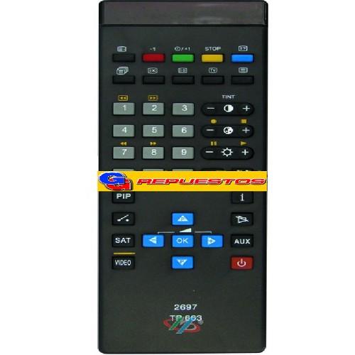 CONTROL REMOTO TV GRUNDIG TP663 (2697)