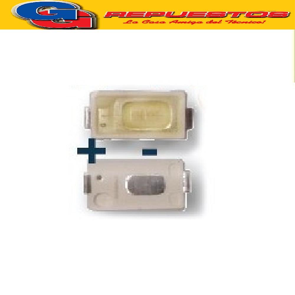 LED PANTALLA 6V 57X30 BACKLIGHT SAMSUNG-JVC (LUMINIDAD 60-70) 6000-6500K