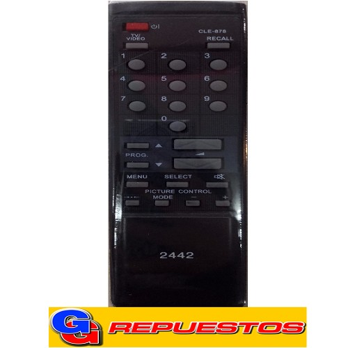 CONTROL REMOTO TV HITACHI (2442) CLE878