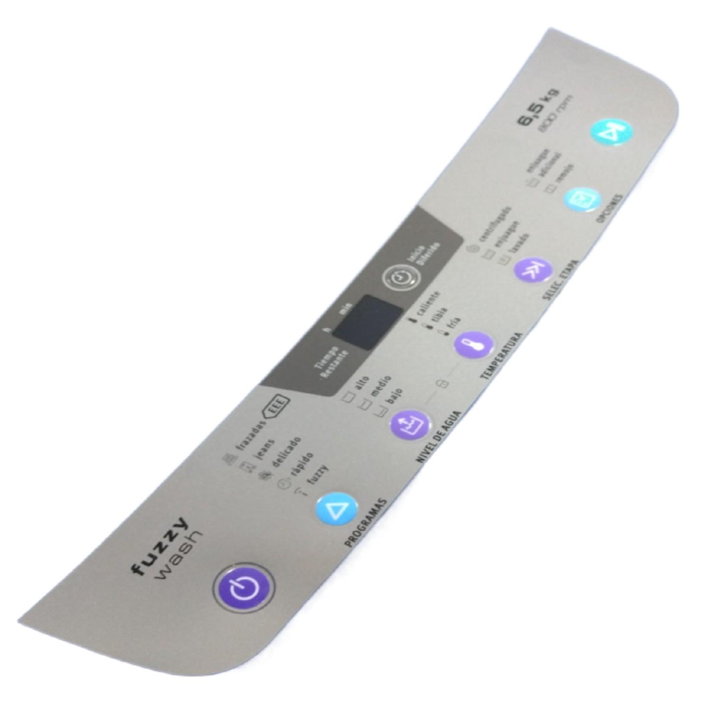 MEMBRANA DE PLACA LAVARROPAS ELECTROLUX MIRIAM FUZZY WASH SERIGRAFIA/PANEL CONTROL CON DISPLAY ORIGINAL Cod.Origen: 2360786 (GAFA-ELECTROLUX) PLACA MEMBRANA MIRIAM