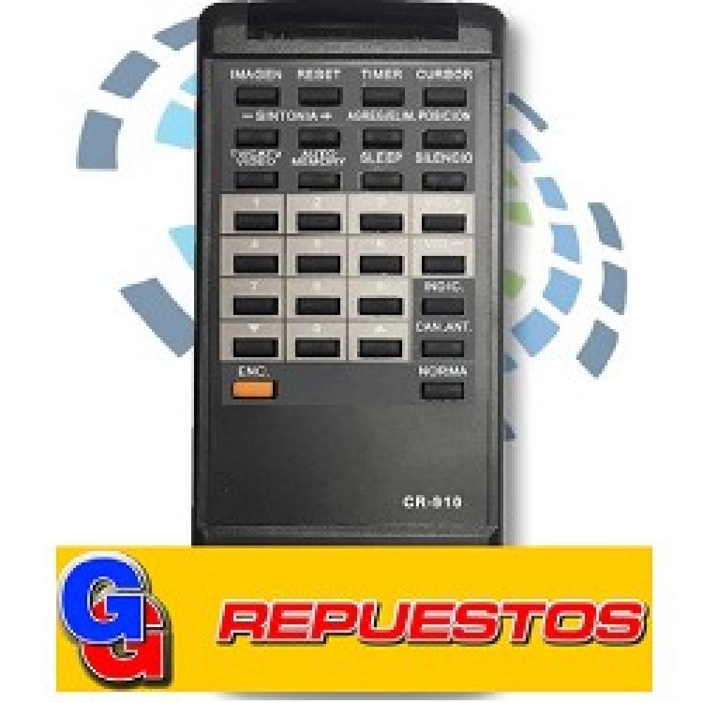 CONTROL REMOTO TV CR910 HITACHI (2568)