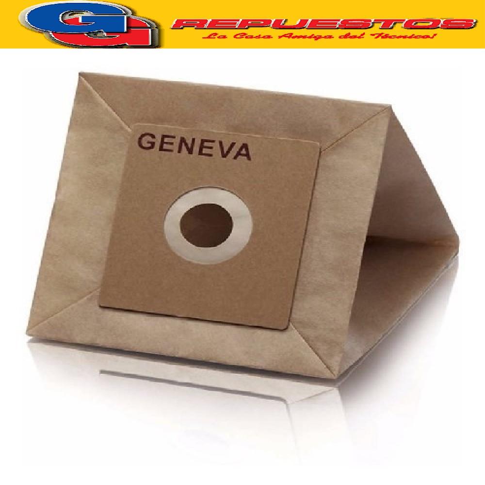 BOLSA ASPIRADORA DE PAPEL PHILIPS GENEVA x5 unidad.KW005 (KELVINATOR) 10 X11 CM (FC8344) YELMO AS-3210