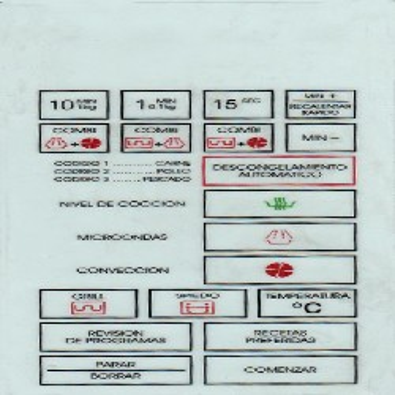 TECLADO MICROONDAS BGH 26650 (PANEL) MD11