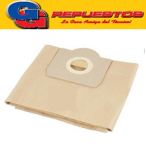 BOLSA ASPIRADORA ROWENTA BULLY RB 20/30/40 IMP. (X5) 10,5CM X 13CM DIAM 6,3CM MOULINEX