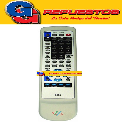 CONTROL REMOTO DVD ENCORE (3508)