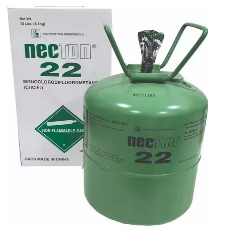 GARRAFA GAS R22 NECTON PURO 6.8 KG
