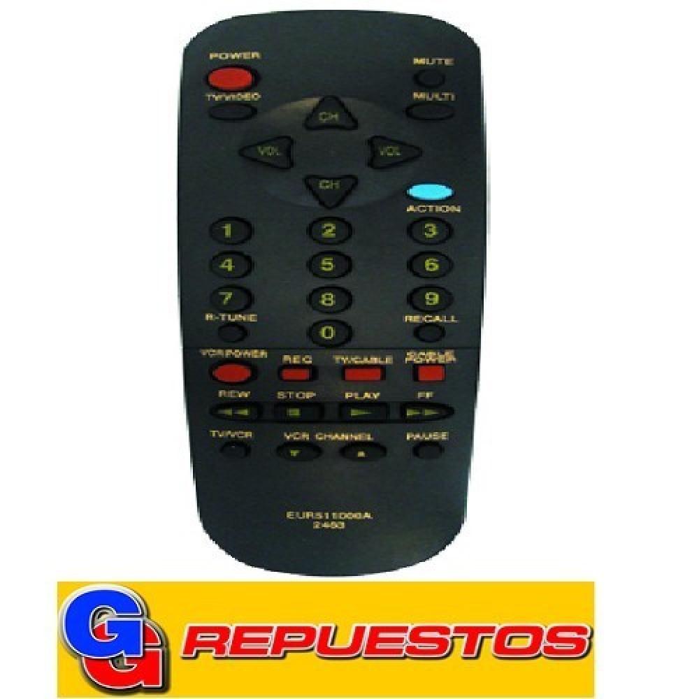 CONTROL REMOTO TV PANASONIC (2463)