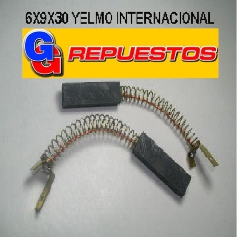 CARBON 6.00X9.00X30.00 LUSTRASPIRADORA YELMO INTER C/TERM. EL PAR