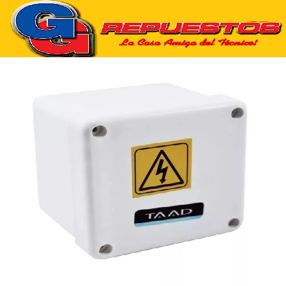 CAJA DE PASO PVC 115X115X110 - TAAD