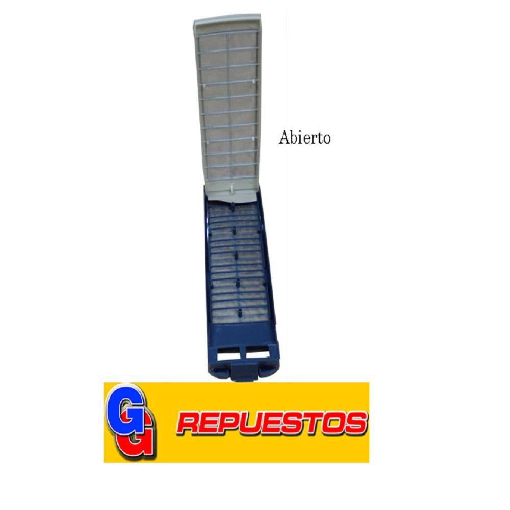 FILTRO PELUSERO RECTANGULAR GRANDE LAVARROPAS SAMSUNG (FILTRO AZUL de 8cm x 23cm) SAVOY-BLUE Cod.Origen: DC97- (SAMSUNG) Produttore-LAVARROPAS AUTOMATICO