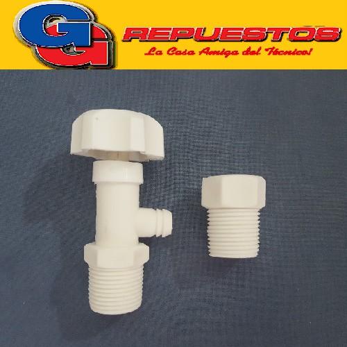 GRIFOS DE PURGA + VALVULA DE ALIVIO (CONJUNTO) PVC ROSCA 3/4