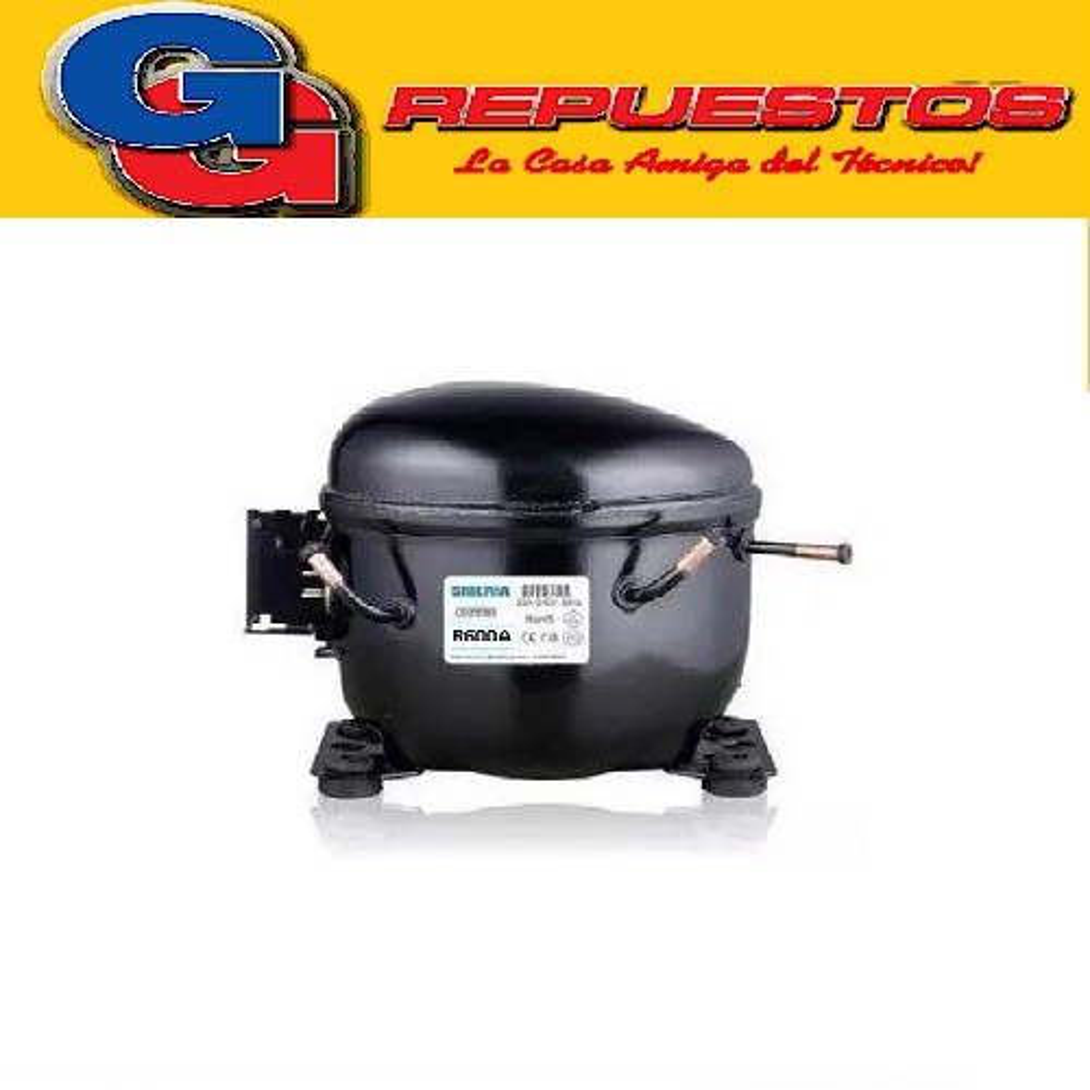 MOTOCOMPRESOR SIBERIA 1/5 HP R600A BFM93AA-IC04180538W