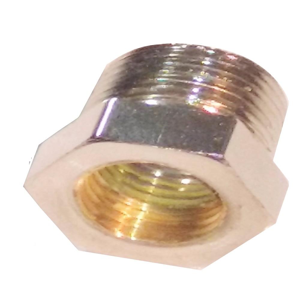 NIPLE CORTO PARA COLOCAR LUCES VENTILADOR DE TECHO