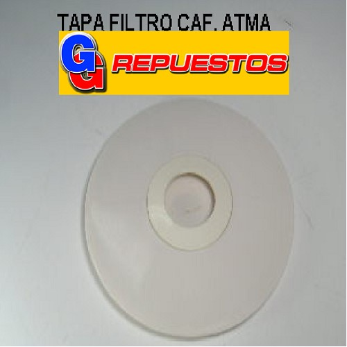 TAPA FILTRO CAFETERA. ATMA N/ORIG