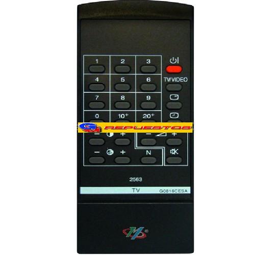 CONTROL REMOTO TV SHARP (2563) 20 CANALES 0348