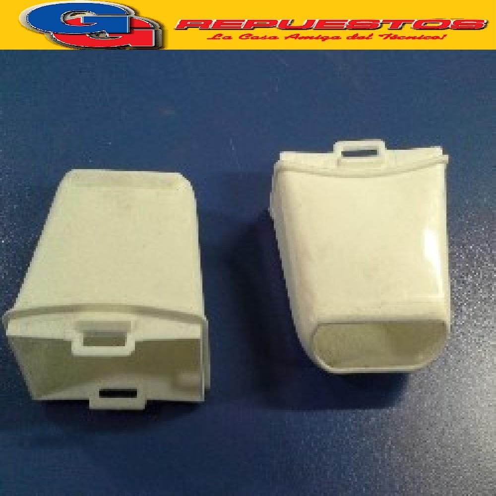 BOQUILLA SECARROPA BLANCA PARA PVC  Y CHAPA PEABODY STANDAR ELECTRIC LUMER COVENTRY SCB 6100