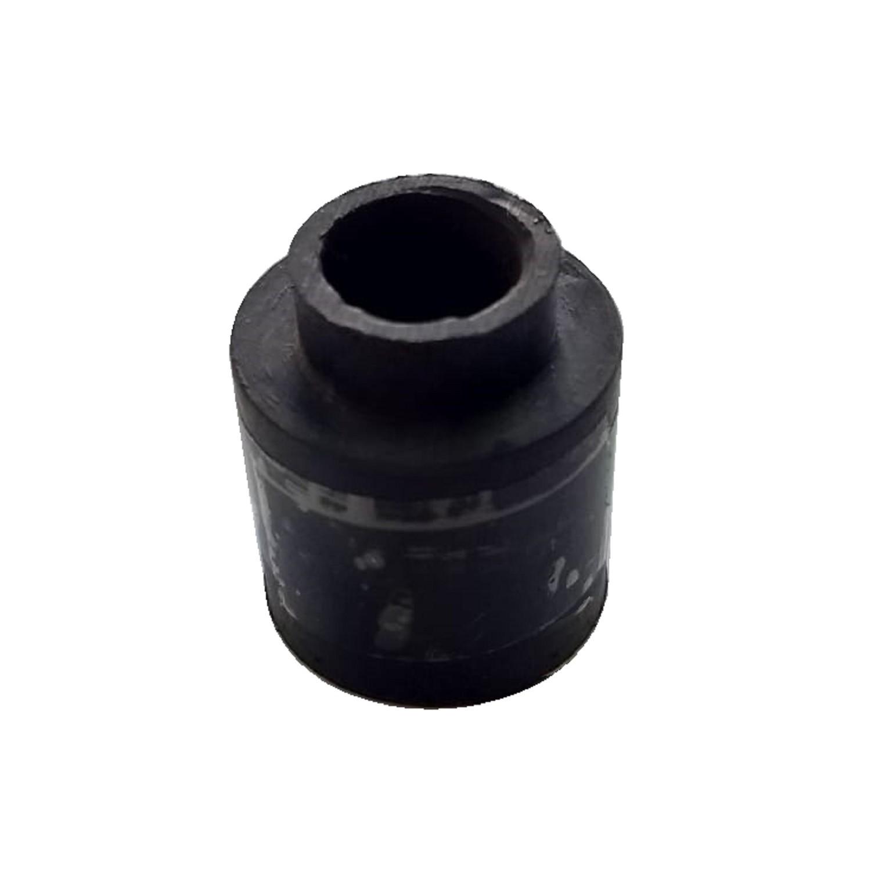 BUJE GOMA HELICE VENTILADOR YELMO LARGO DIAMETRO INTERIOR 11.80 mm, EXTERIOR 23.50 mm ALTO 27.50 mm , ALTO CUELLO 6mm