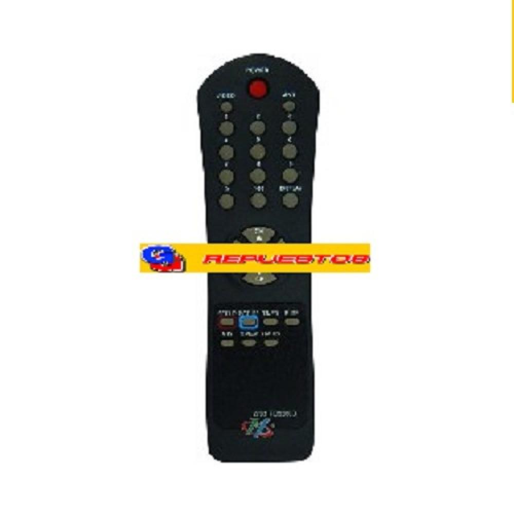 CONTROL REMOTO TV RD3200 ADMIRAL AUDINAC SERIE DORADA (2783)