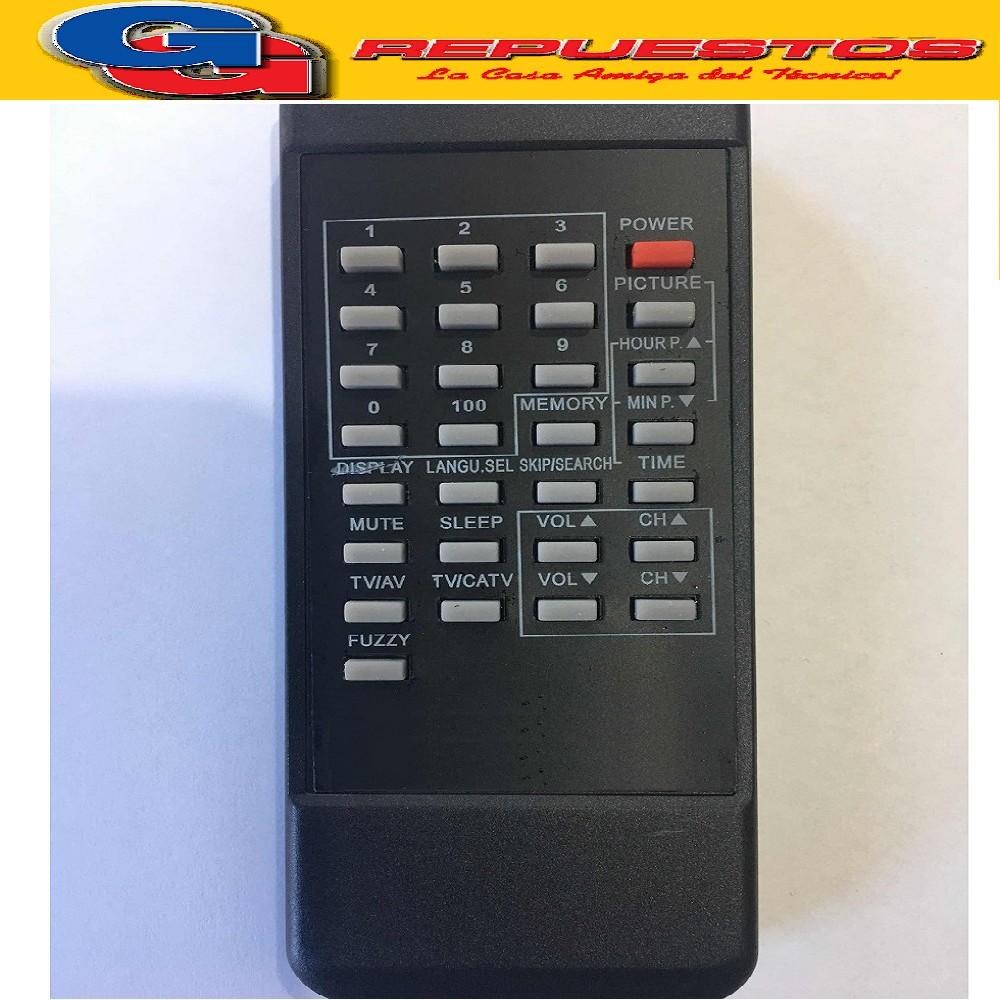 CONTROL REMOTO TV ADMIRAL/AKIO/AUDINAC/BRU COSMIC CROW RM7A (2657)