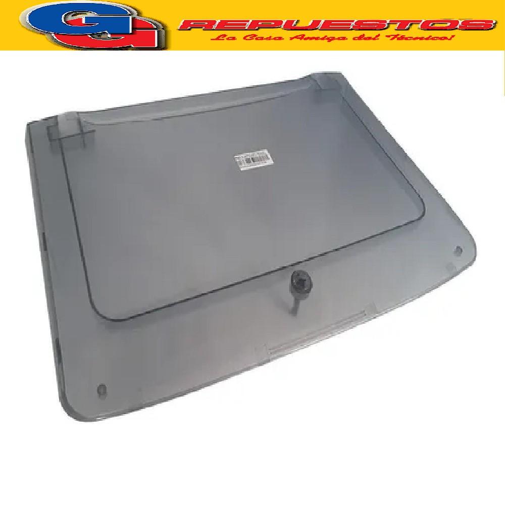 TAPA SUPERIOR DREAN CONCEPT ELECTRONIC AZUL TRANSPARENTE 156 PUERTA UNICOMMAND P116 FUZZY LOGIC 206