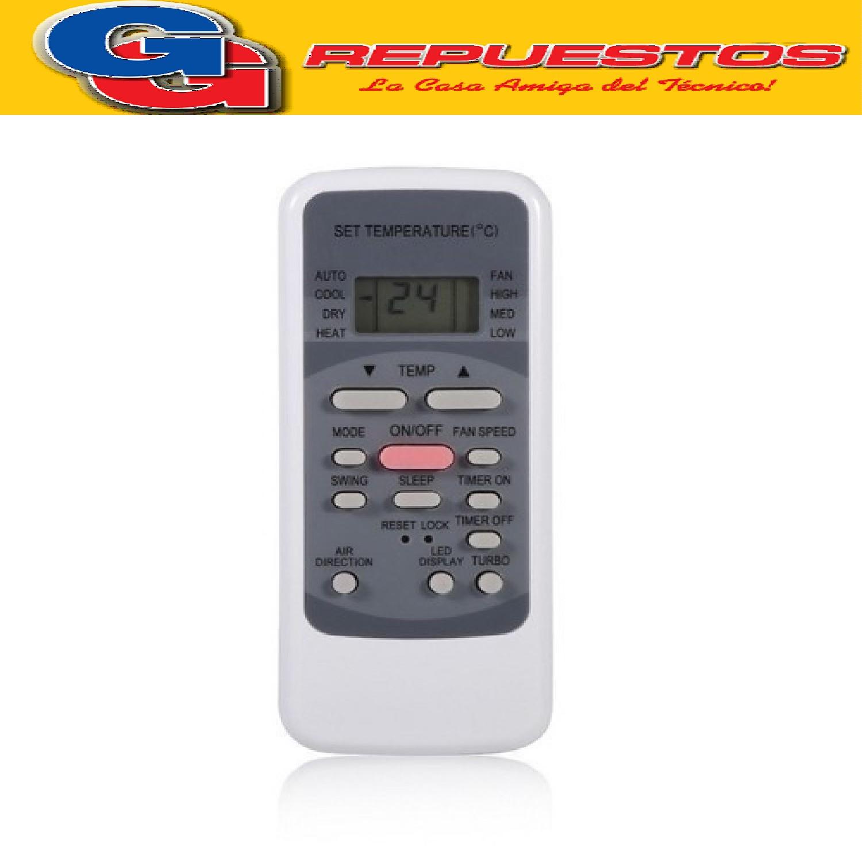 CONTROL REMOTO AIRE ACONDICIONADO [[FRIO / CALOR]] SURREY -PHILCO-ELECTROLUX-GRUNDIG-CONQUEROR Y OTROS