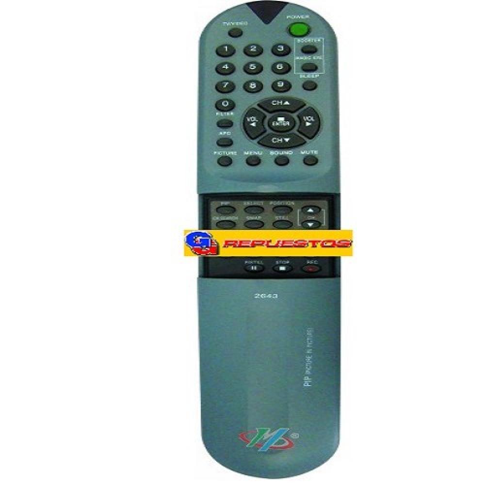 CONTROL REMOTO TV FS029 GOLDSTAR LG (2643) RC105-229