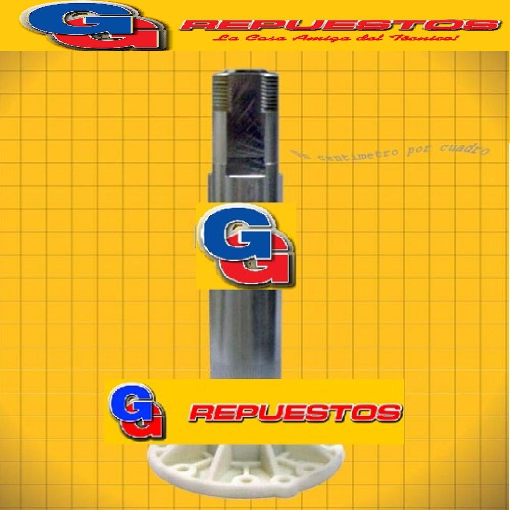 TUBO C./BUJE Y RETEN INTER.CAJA GENERAL ELECTRIC AMAZONAS 2.0 (CAJAS P./Lavarropas de 8 Kgrs)