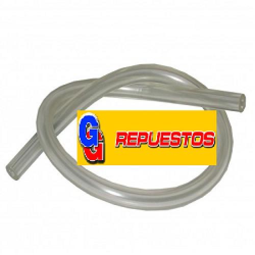 MANGUERA CRISTAL PRESOSTATO TUBO DE GOMA P/PRESOSTATO FINO POR METRO