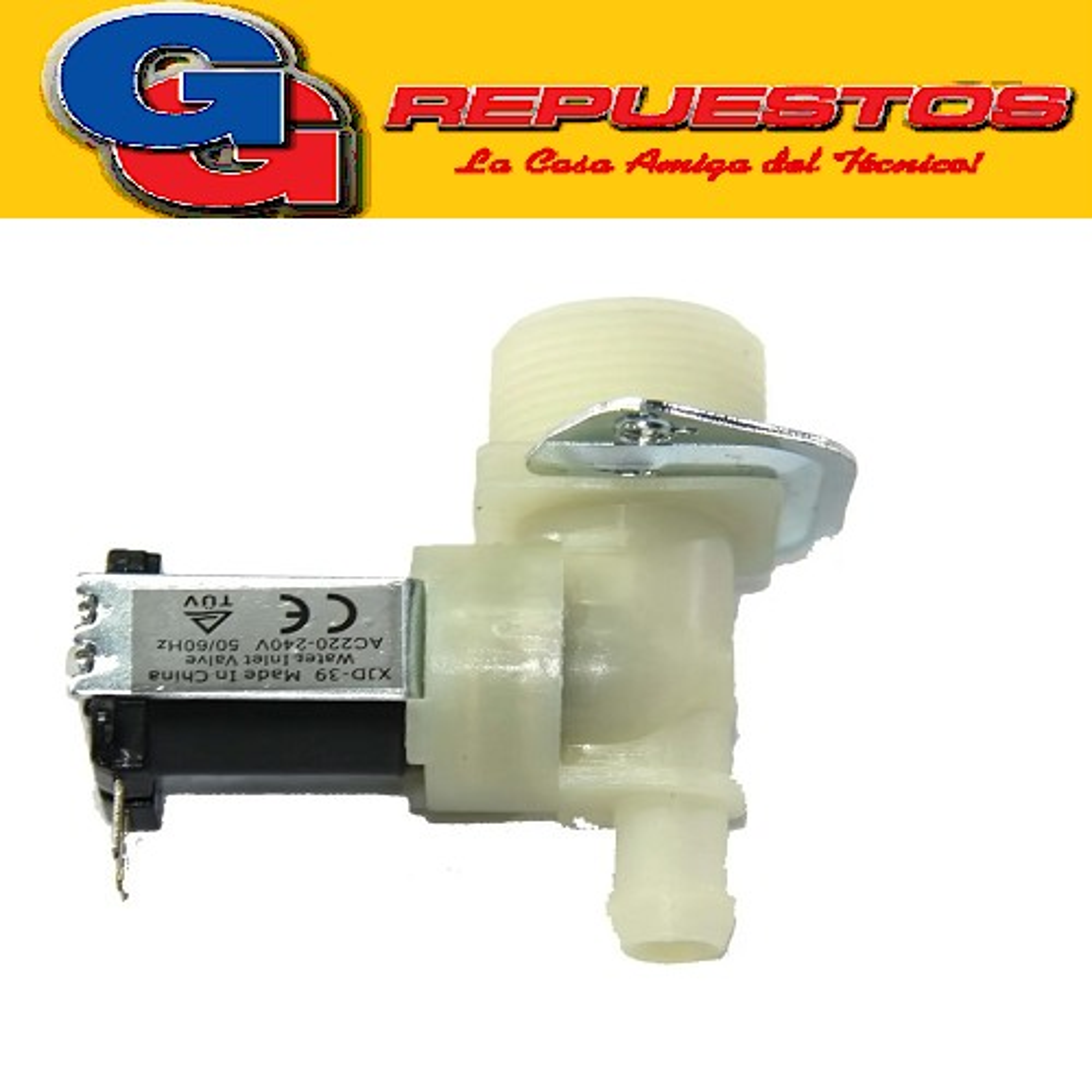 ELECTROVALVULA LAVARROPAS  1 VIA 180-LAVARROPAS AUTOMATICO