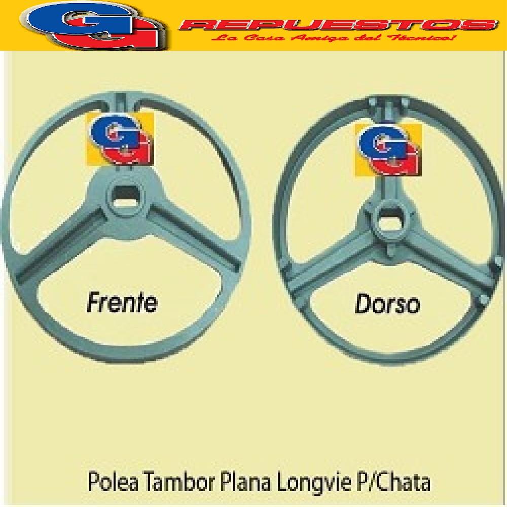 POLEA TAMBOR LAVARROPAS LONGVIE L512-515T-517WD-2412- 4817 AGUJERO GRANDE 512-515T-517WD-2412-2512-2515 -2517-K7125-L613-L616-L815-LS817-linea 3000 y 4000(PLANA de Agujero Grande) LONGVIE L4815-LS4817-L5815-LS5817 Note Descrittive :Diametro Externo: