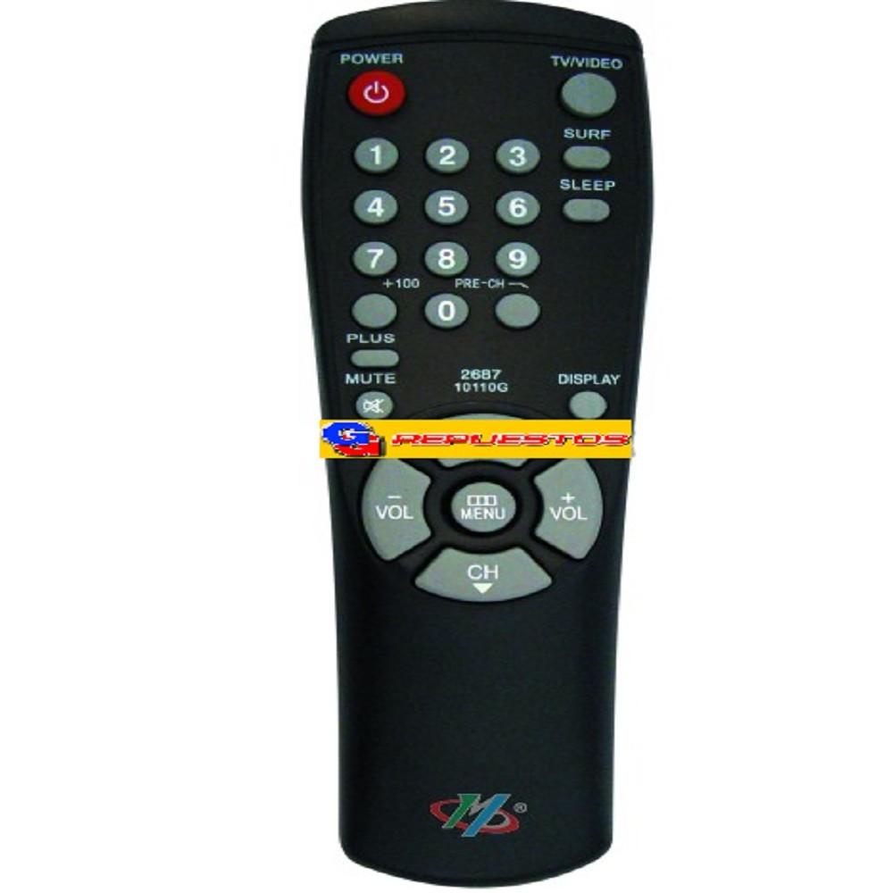 CONTROL REMOTO TV SAMSUNG 0188 (2687) 10110G