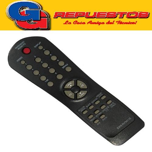 CONTROL REMOTO TV RH3411E SERIE DORADA AUDINAC ADMIRAL (2956)