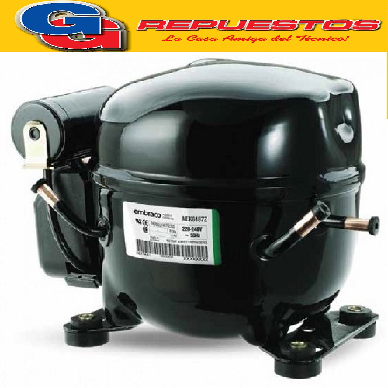 MOTOCOMPRESOR EMBRACO ASPERA 3/4 R404A MBP - NEU6215GK COMERCIAL