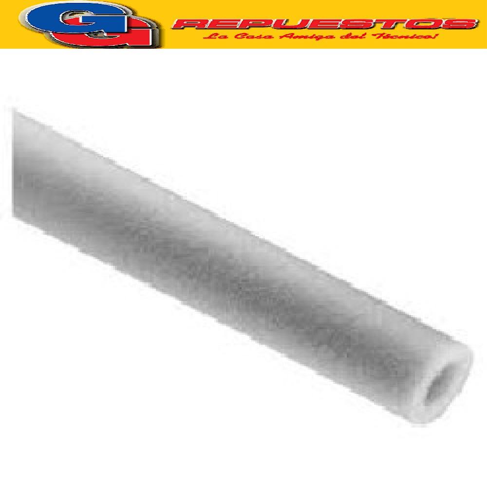 COBERTOR TIRA AISLACION 1/4  2m  POLIPEX -e=10mm-polie GRIS
