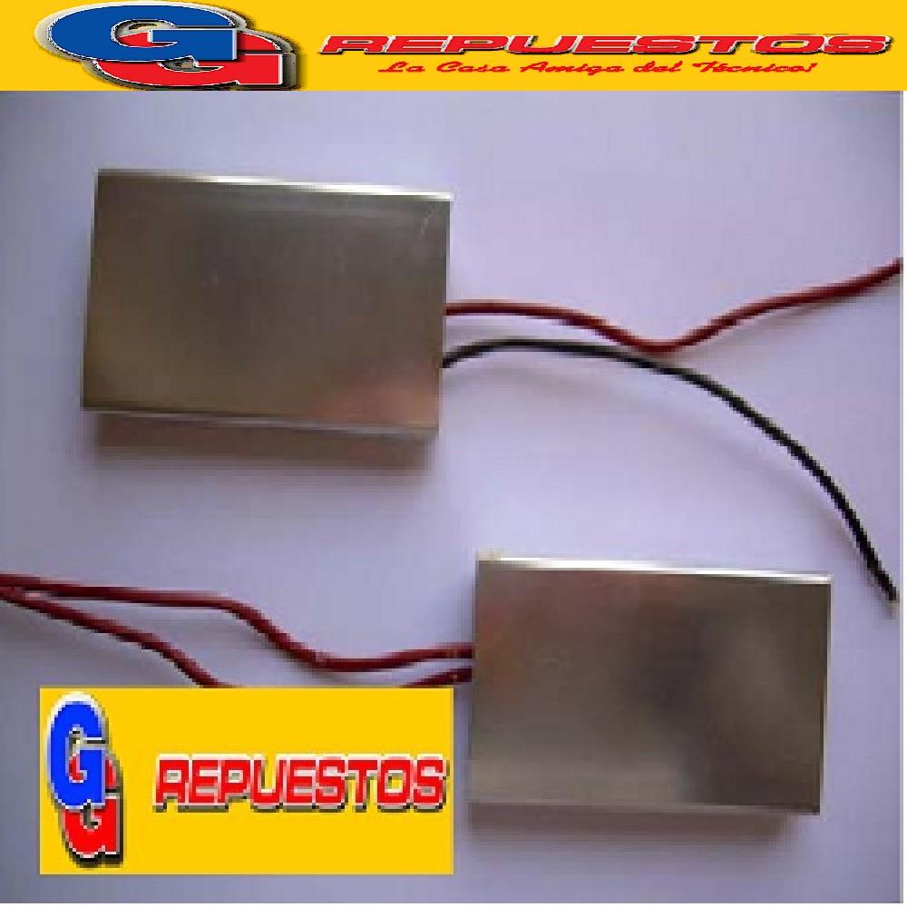 RESISTENCIA PLANCHITAS DE PELO A106 Corta  2 CM  X 6 CM 190 OHM
