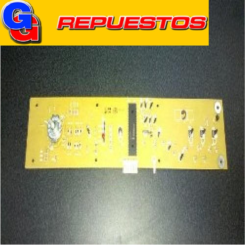 PLAQUETA LAVARROPAS LONGVIE modulo de mando ART: ORIGINAL 12549 L5815 DIGITAL 800 RPM