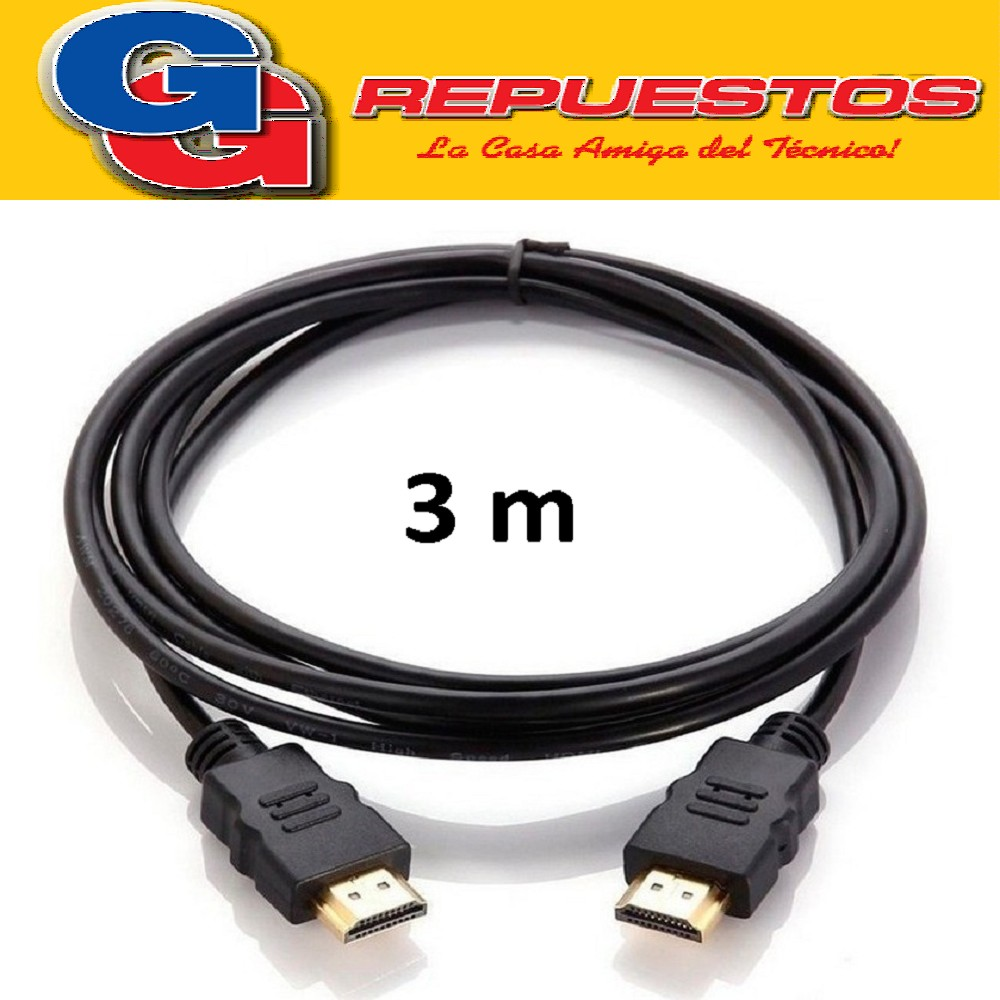 CABLE HDMI 3 MTS