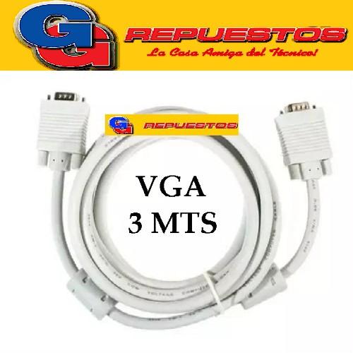 CABLE VGA 3 MTS