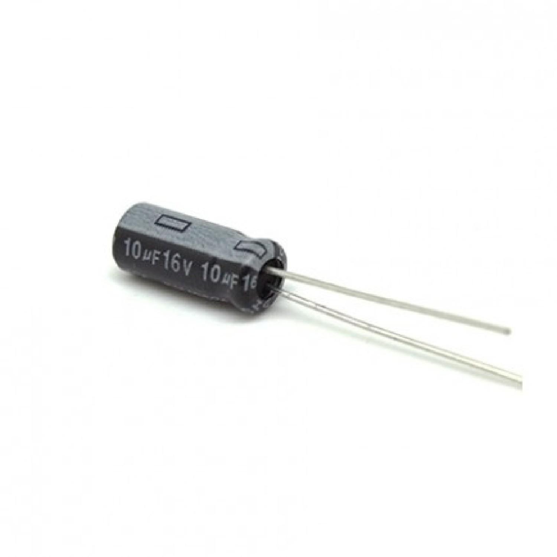CAPACITOR ELECTROLITICO 10uFX16V MINI