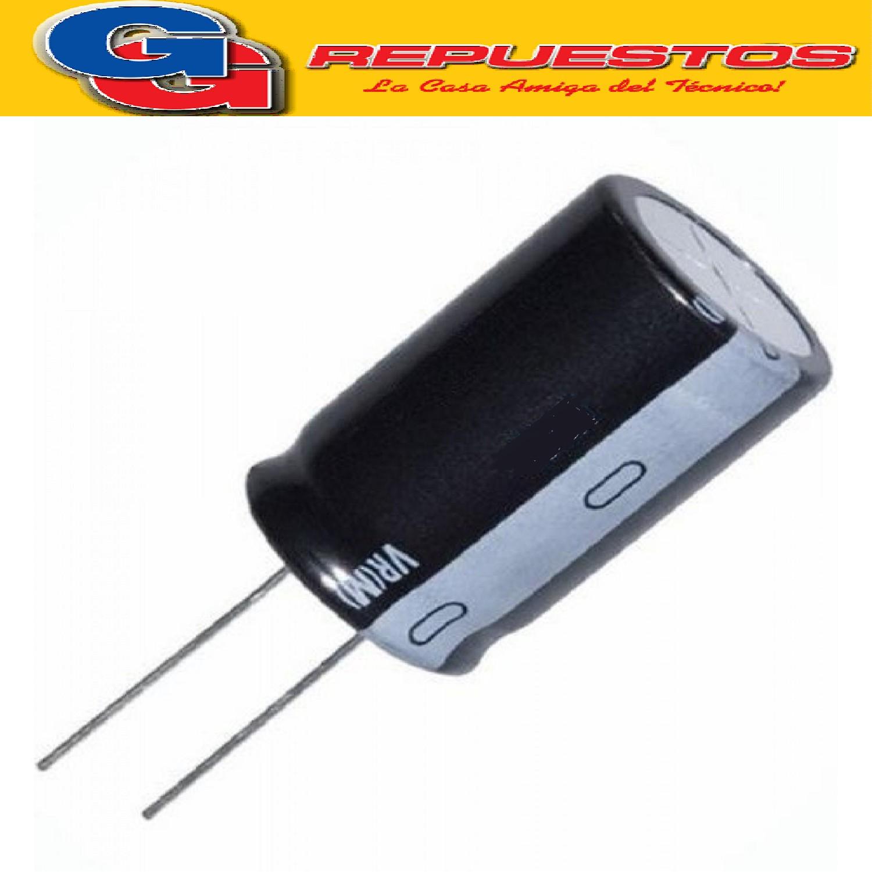 CAPACITOR ELECTROLITICO 22uFX16V PATA LARGA