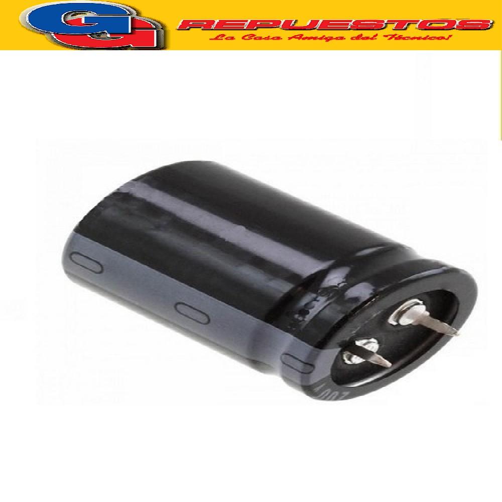 CAPACITOR ELECTROLITICO 2200uFX50V BLINDADO