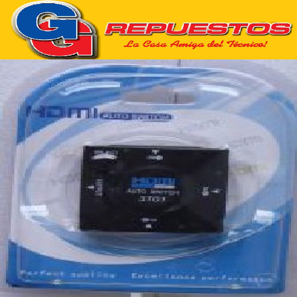SELECTOR HDMI 3X1 MANUAL