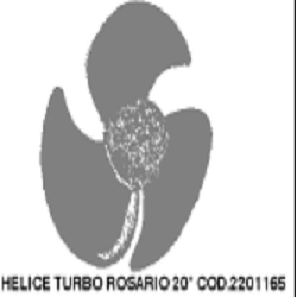 HELICE 20  EJE 12mm ALUMINIO TURBO
