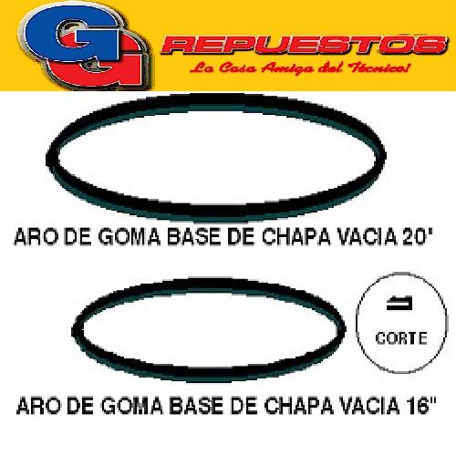 ARO GOMA BASE CHAPA VACIA VENTILADOR 20