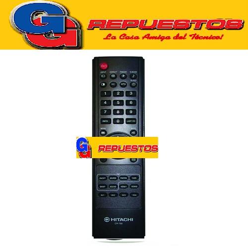 CONTROL REMOTO HITACHI LCD 3548